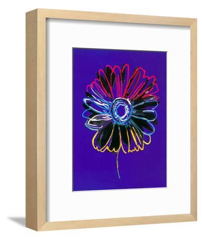 Theme in Blue II-H^ Grosjean-Framed Art Print