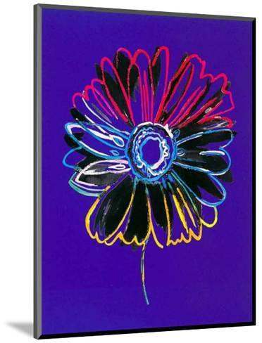 Theme in Blue II-H^ Grosjean-Mounted Art Print