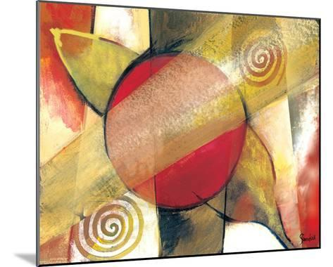 Abstract-Stefan Greenfield-Mounted Art Print