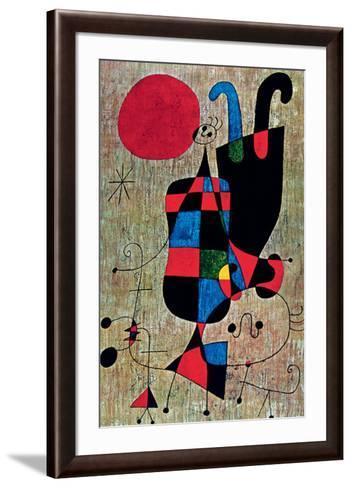 Inverted-Joan Mir?-Framed Art Print