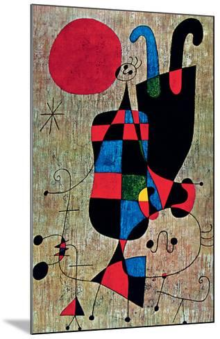 Inverted-Joan Mir?-Mounted Art Print