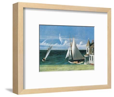 The Lee Shore-Edward Hopper-Framed Art Print