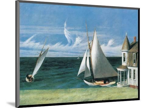 The Lee Shore-Edward Hopper-Mounted Art Print