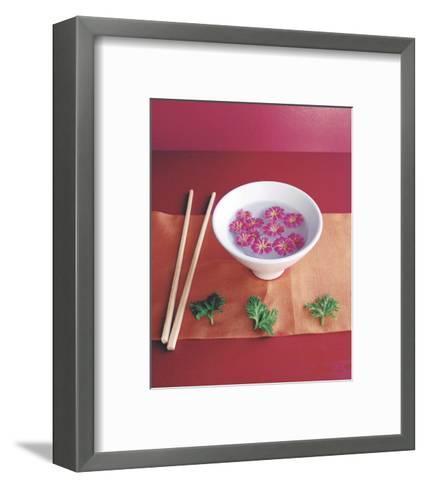 Bowl with Flowers-Amelie Vuillon-Framed Art Print