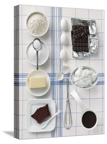 Chocolate Cake-Camille Soulayrol-Stretched Canvas Print