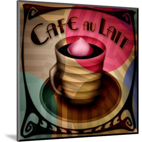 Cafe au Lait--Mounted Giclee Print