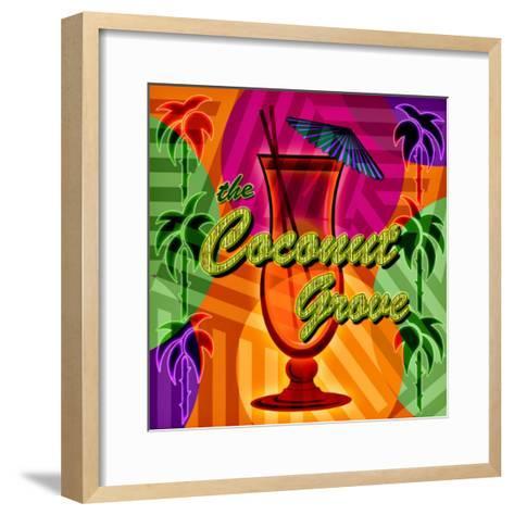 Coconut Grove--Framed Art Print