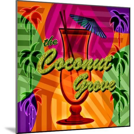 Coconut Grove--Mounted Giclee Print