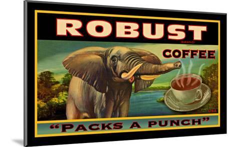 Robust Coffee--Mounted Giclee Print