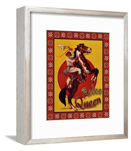 Rodeo Queen--Framed Art Print
