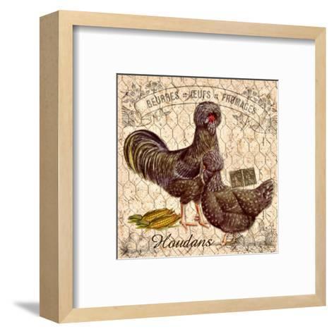 Country Houdans--Framed Art Print