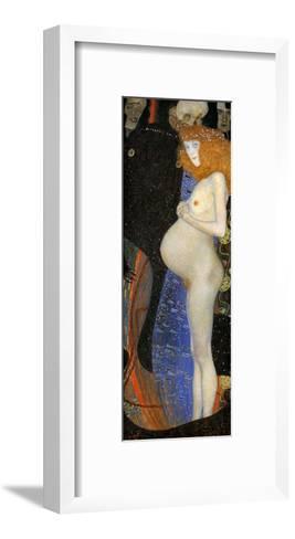 Hope I-Gustav Klimt-Framed Art Print
