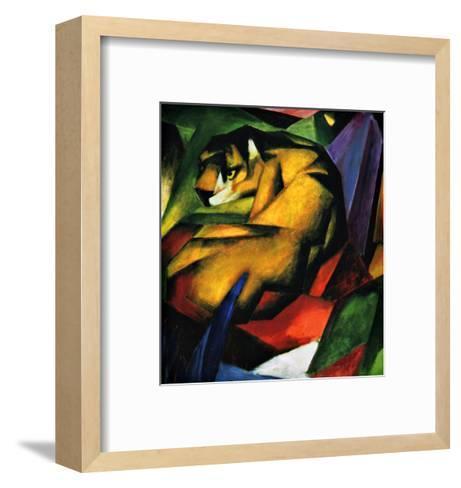 The Tiger-Franz Marc-Framed Art Print