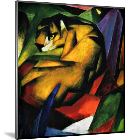 The Tiger-Franz Marc-Mounted Giclee Print