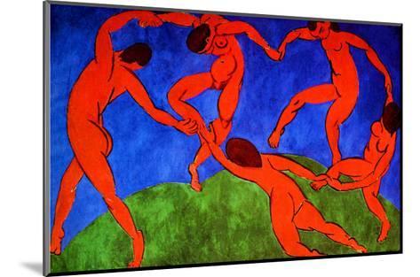 Dance, 1910-Henri Matisse-Mounted Giclee Print