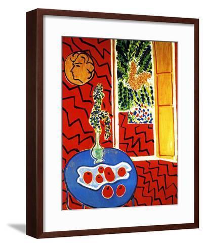 Red Interior-Henri Matisse-Framed Art Print