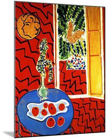 Red Interior-Henri Matisse-Mounted Giclee Print