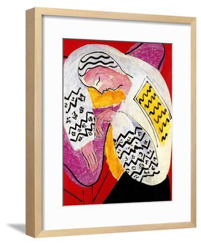 The Dream-Henri Matisse-Framed Art Print