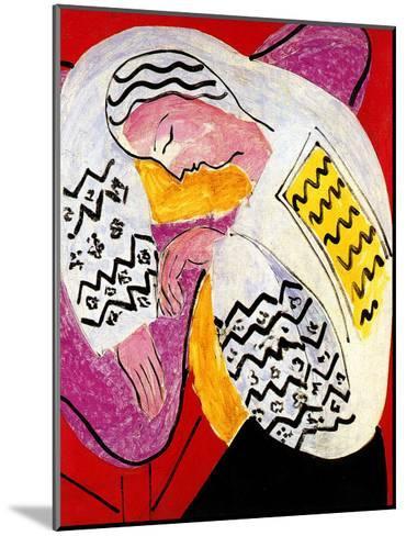 The Dream-Henri Matisse-Mounted Giclee Print
