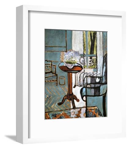 Forget-Me-Nots in the Window-Henri Matisse-Framed Art Print