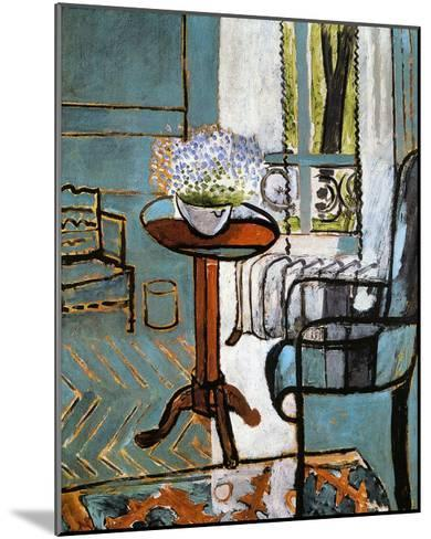 Forget-Me-Nots in the Window-Henri Matisse-Mounted Giclee Print