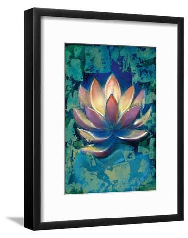 Lotus II-Marcella Rose-Framed Art Print