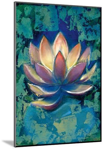 Lotus II-Marcella Rose-Mounted Giclee Print