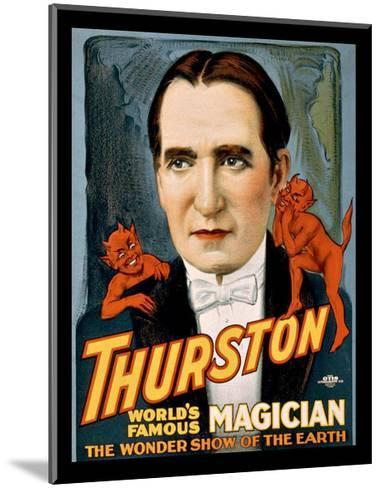 Thurston World Famous Magician--Mounted Giclee Print