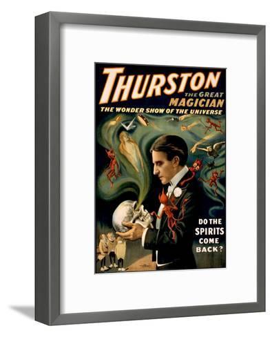 Thurston the Great Magician--Framed Art Print