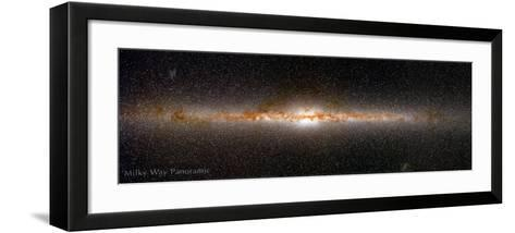 Milky Way Panorama--Framed Art Print