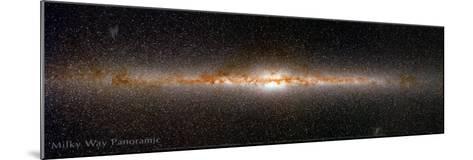 Milky Way Panorama--Mounted Art Print