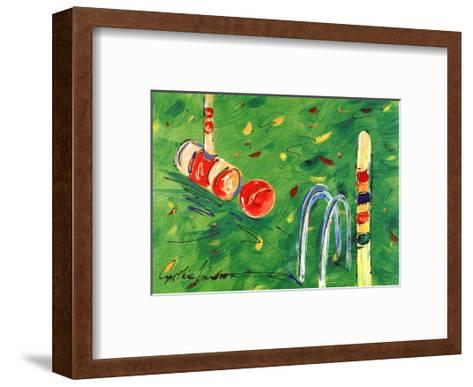 Croquet-Cynthia Hudson-Framed Art Print