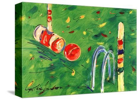 Croquet-Cynthia Hudson-Stretched Canvas Print