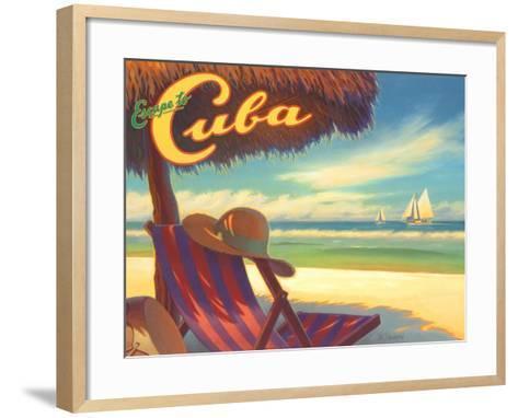 Escape to Cuba-Kerne Erickson-Framed Art Print