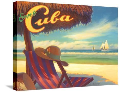 Escape to Cuba-Kerne Erickson-Stretched Canvas Print