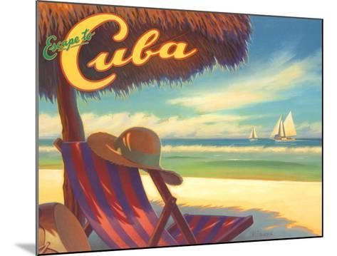 Escape to Cuba-Kerne Erickson-Mounted Art Print