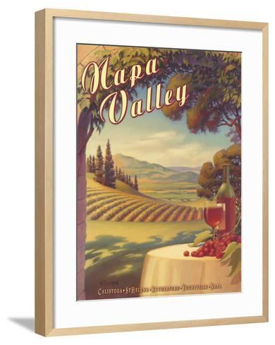 Napa Valley-Kerne Erickson-Framed Art Print