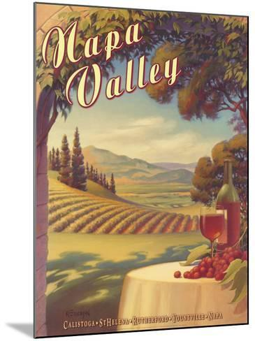 Napa Valley-Kerne Erickson-Mounted Art Print