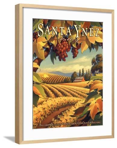 Santa Ynez Valley-Kerne Erickson-Framed Art Print
