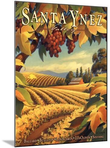 Santa Ynez Valley-Kerne Erickson-Mounted Art Print
