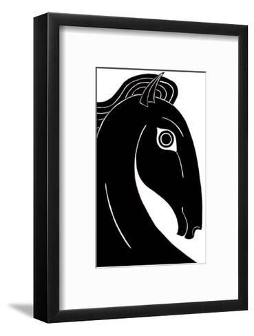 Chevaux d' Femme I-Strammel-Framed Art Print