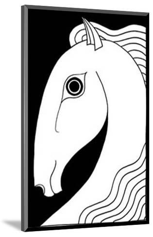 Chevaux d' Femme II-Strammel-Mounted Art Print
