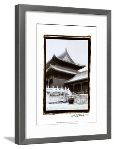 Palace Rooftops, Beijing-Laura Denardo-Framed Art Print