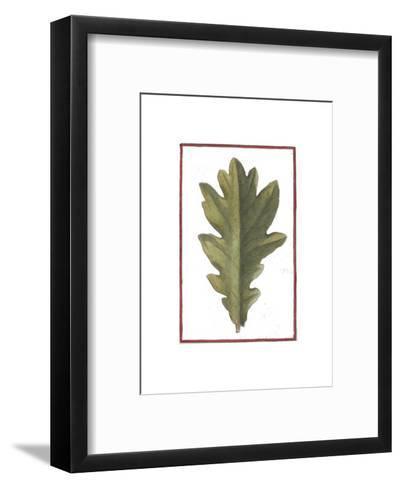 Vintage Leaf IV--Framed Art Print