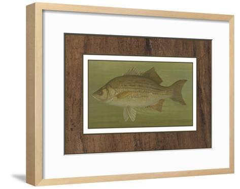 White or Silver Bass-Harris-Framed Art Print