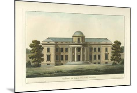 Architectural Rendering VI--Mounted Giclee Print