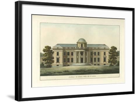 Architectural Rendering VI--Framed Art Print