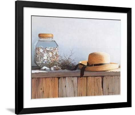 Still Life with Seashells-Daniel Pollera-Framed Art Print