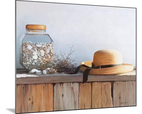 Still Life with Seashells-Daniel Pollera-Mounted Art Print