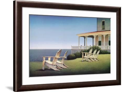 Noon at Spring View-Daniel Pollera-Framed Art Print